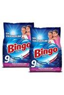 Bingo Matik Toz Deterjan Sık Yıkananlar 9 Kg X 2 Adet +10 Adet Evony Maske Hediye