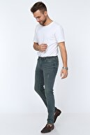 Digital Jeans Erkek Yeşil Renk Kot Pantolon