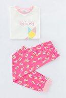 Penti Kız Çocuk Çok Renkli Tangram 2Li Pijama Takımı