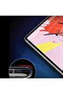 "Fibaks Galaxy Tab S6 Lite P610 10.4"" Uyumlu Nano Esnek Flexible 9h Micro Temperli Kırılmaz Cam"