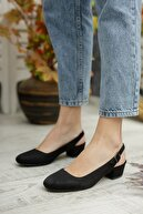 DİVOLYA Esty Arkadan Bantlı Kısa Topuklu Günlük Ayakkabı