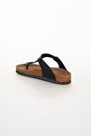 meyra'nın ayakkabıları Kadın  Siyah Klasik Parmak Arası Terlik