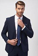 Altınyıldız Classics Erkek Lacivert Slim Fit Takım Elbise