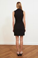 TRENDYOLMİLLA Siyah Ceket  Elbise TWOSS19AP0280