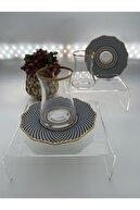Koleksiyon Ev ve Mobilya 12 Parça Çay Bardağı Takım Seti