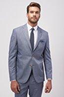 Altınyıldız Classics ERKEK Lacivert Slim Fit Desenli Takım Elbise