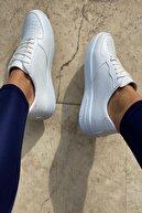 İnan Ayakkabı Unisex Beyaz Spor Ayakkabı&Sneaker INA100