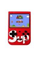 Gate Klasik Süper Mario Oyunlu Çift Kollu Sup Klasik 400 Oyunlu 3.0 Inç El Atarisi