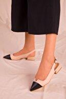 Soho Exclusive Siyah-Ten Kadın Sandalet 15868