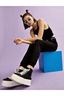 Koton Kadın Jogger Esofman Alti Slogan Detayli Pamuklu