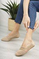Moda Değirmeni Ten Dantelli Kadın Dantelli Günlük Ayakkabı Md1068-111-0001