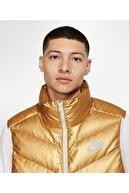 Nike Erkek Açık Gri Altın Rengi Yelek Cq0252 043