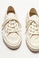 Elle Kadın Ekru Sneaker