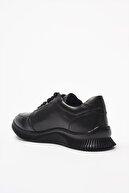 Hotiç Hakiki Deri Siyah  Sneaker 02AYH201850A100