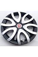 Avsaroto Fiat Punto 15'' Inç Çelik Jant Görünümlü Renkli 4'lü Set Jant Kapağı