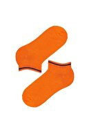Penti Erkek Çocuk Gri Plaın Strıpe 4lü Patik Çorap
