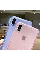 Molly Iphone Xs Max Uyumlu Mor Crystal Süper Şeffaf Silikon Kılıf