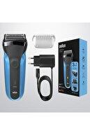 Braun Series 3 310 Bt Blue 3'ü 1 Arada Sakal Şekilendirici Ve Tıraş Makinesi
