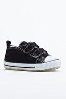 Tonny Black Siyah Çocuk Spor Ayakkabı Cırtlı Tb997