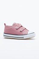 Tonny Black Mor Çocuk Spor Ayakkabı Cırtlı Tb997