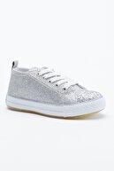 Tonny Black Gümüş Çocuk Spor Ayakkabı Tb998