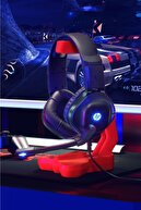 HP Dhe-8002 Işıklı Mikrofonlu Gaming Oyuncu Kulaklık