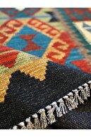RUGSMODERN Cotton Pamuklu Çok Renkli Otantik Ve Etnik Desenli Kilim 502