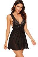 Mite Love Kadın Siyah Gecelik Giyim