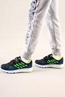 AYN-Shoes Çocuk Siyah-yeşil Anatomik Taban Günlük Spor Ayakkabı