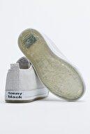 Tonny Black Buz Çocuk Spor Ayakkabı Cırtlı Tb997