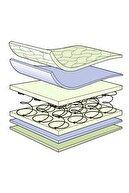 POOLY 70x120 Bambu Desenli Soft Ortopedik Yaylı Yatak 70*120 Yaylı Bebek Yatağı