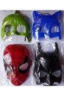 AVENGERS Hulk Joker Batman Pijamaskeliler Uğurböceği Karakedi Örümcek 10 Maske