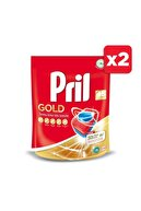 Pril Gold 90 Yıkama Bulaşık Makinesi Deterjanı Tableti (2 x 45'li Paket)
