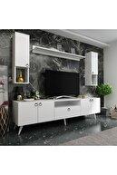 Myniture Tv Ünitesi Beyaz  Q3025-1