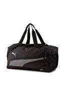 Puma Unisex Siyah Spor Çantası - Fundamentals Sports Bag S  - 07728901