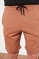 TRENDYOL MAN Camel Erkek Regular Fit  Şort & Bermuda TMNSS20SR0070