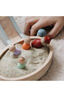 Masalinka Linka Oyun Parkı - 2 Organik Ve Doğal Ahşap Oyuncak