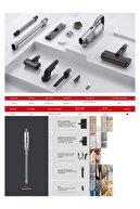 Roidmi X30 Pro Şarjlı Kablosuz Dikey Süpürge (5 Yıl Motor Garantili)
