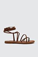 Trendyol Shoes Taba Kadın Sandalet TAKSS21SD0026