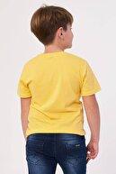 zepkids Erkek Çocuk T-shirt Summer Times Baskılı 3-12 Yaş