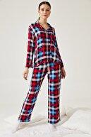 oshebu Desenli Pijama Takımı