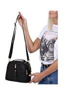 Dora Kadın El Ve Çapraz Askı Çanta Siyah