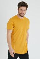 XHAN Hardal Yanı Baskılı T-shirt 1kxe1-44621-37