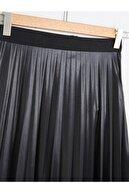 Essah Moda Kadın 2 Adet Piliseli Uzun Etek