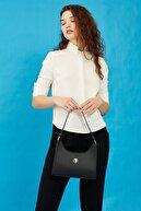US Polo Assn Sıyah Kadın Omuz Çantası Us8384