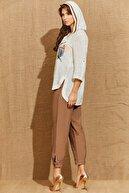 Guitar Kadın Kahverengi Pantolon
