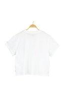 Levi's Kadın  Graphıc Varsıty Tee Lse_Outlıne Floral T-Shirt 69973-0184
