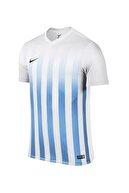 Nike Erkek Forma -  Ss Striped Division II Jsy 725893-100 Kısa Kol Forma - 725893-100