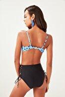 TRENDYOLMİLLA Siyah Yanları Bağlamalı Yüksek Bel Bikini Altı TBESS19MN0006
