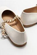 Elle Kadın Naturel Deri Günlük Ayakkabı